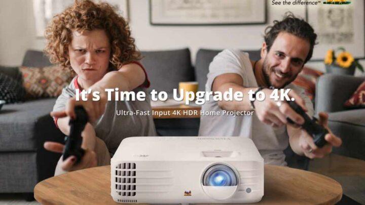 ViewSonic 萬元以下 4K 投影機  PX701-4K 4K 低延遲電玩娛樂至啱