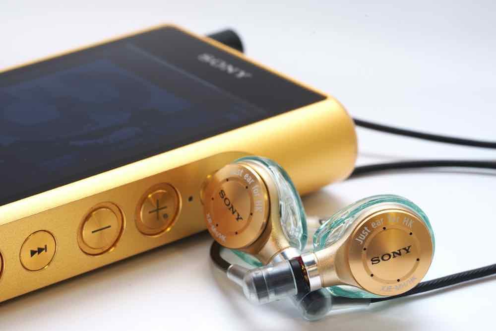 Sony Just ear XJE-MH/HK 客製耳機  專為香港音樂愛好者而研製的專屬調音