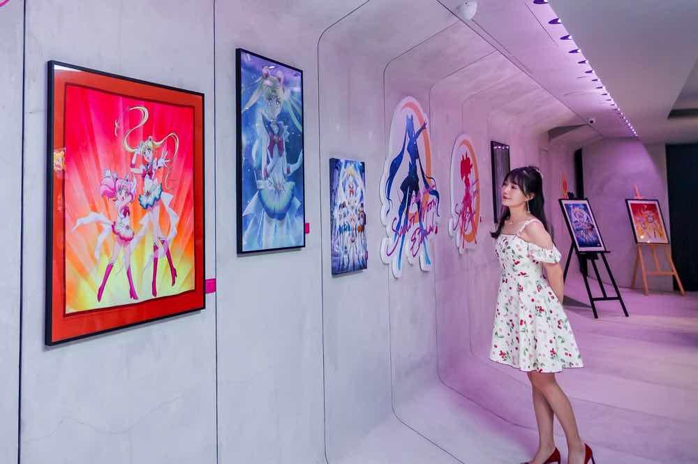 美少女戰士現身!《 劇場版美少女戰士Eternal 》Pop-Up Gallery 首度登場
