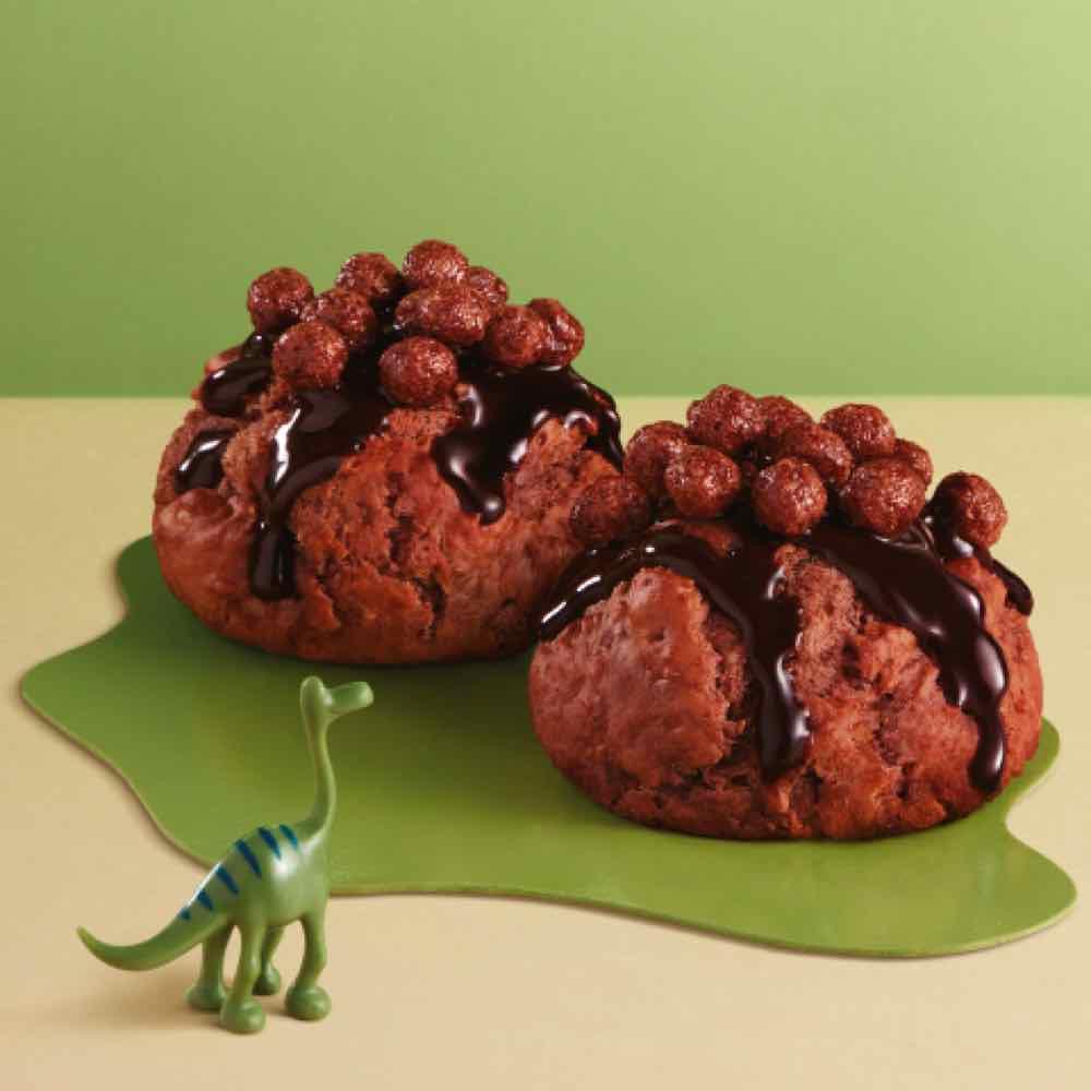 KFC x 美祿 推出期間限定推出「 美祿恐龍迷你鬆餅 」搭配「 美祿恐龍 」