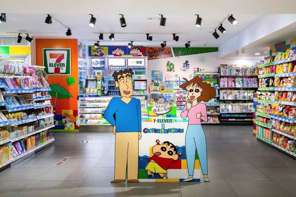 期間限定 7-Eleven x 蠟筆小新主題概念店  獨家限定小新IG濾鏡打卡