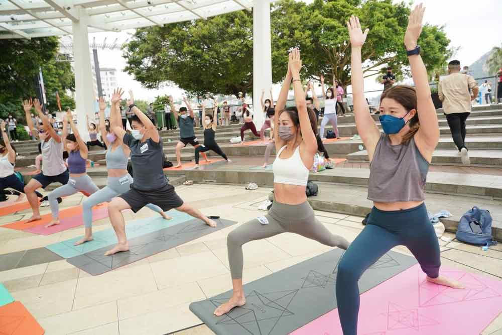 赤柱廣場 「 Boundless Tempo 」戶外瑜伽 專業導師開班公開報名