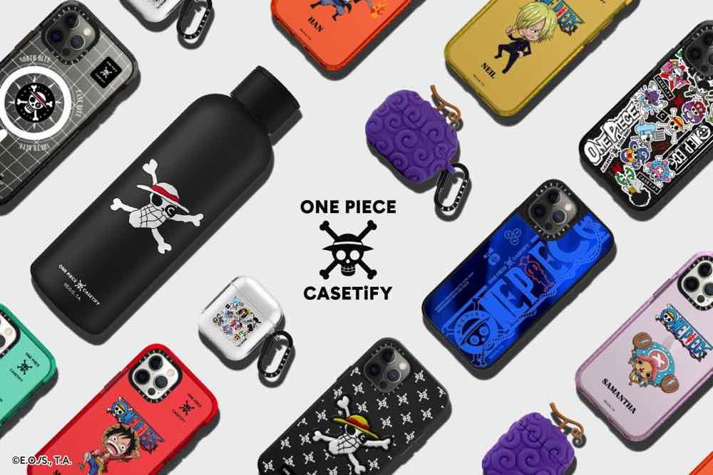 CASETIFY x ONE PIECE 聯乘系列  揚帆起航手機踏上「偉大航道」