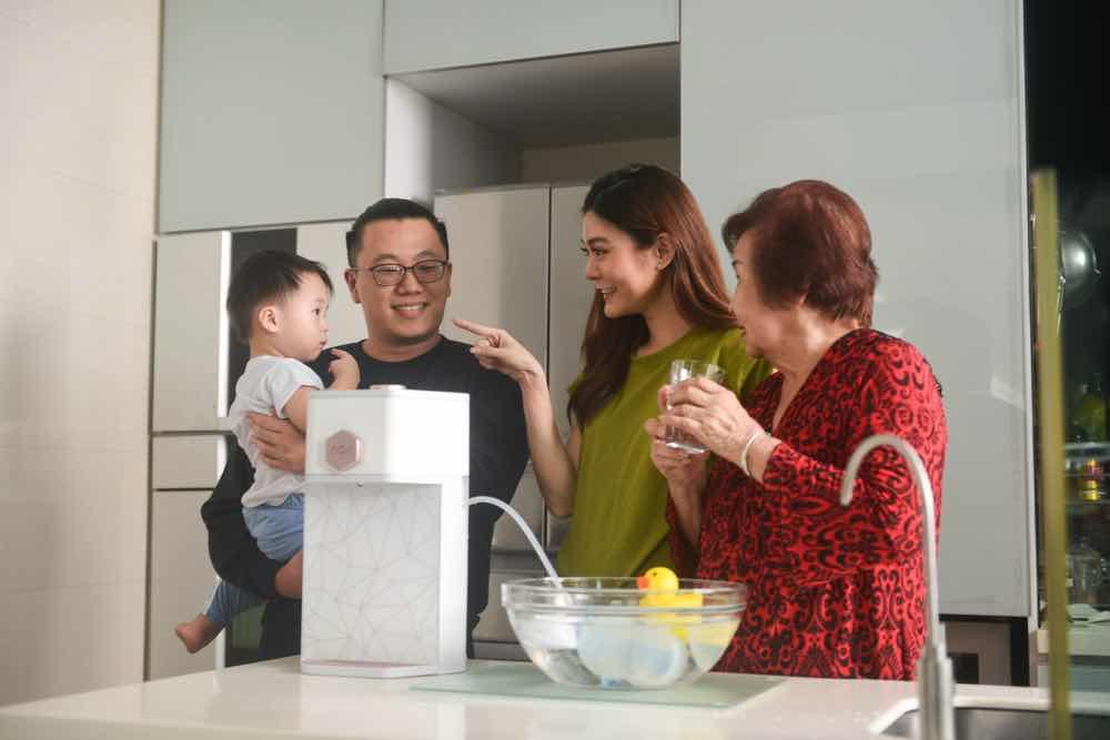 新加坡濾水品牌 AOX 技術濾芯 五層過濾系統自來水變成天然抗氧化鹼性水