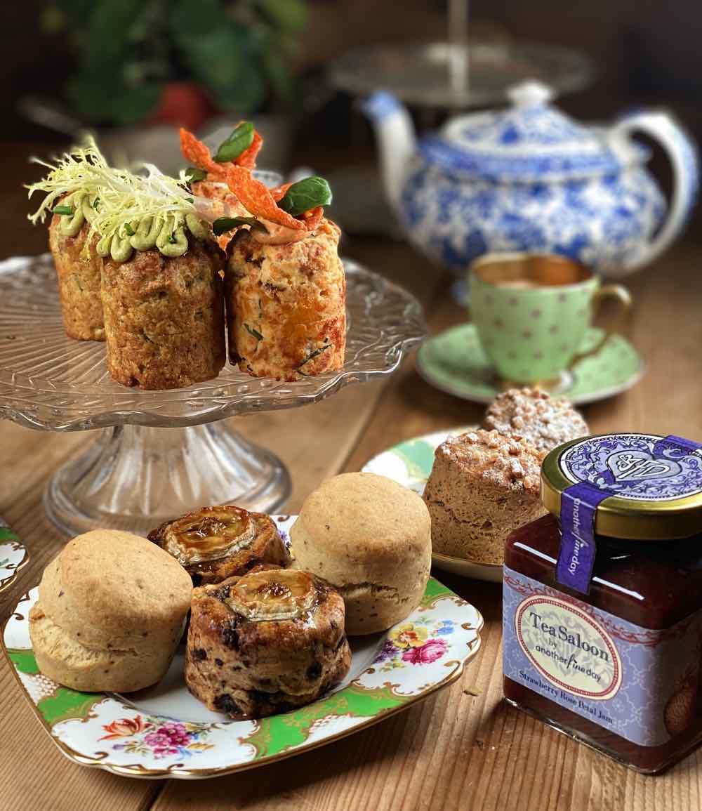 Tea Saloon by Another Fine Day 推出特式下午茶  CBD 曲奇高抗氧化