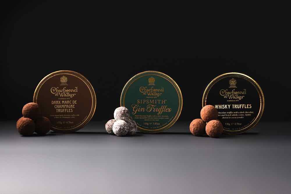英國朱古力品牌 Charbonnel et Walker 推出父親節禮盒套裝甜入心