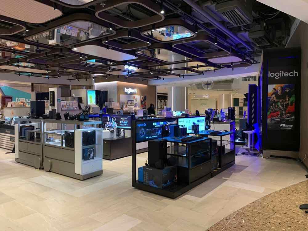 再開設兩間  Logitech 體驗館  新界東西區擴版圖送開幕禮遇