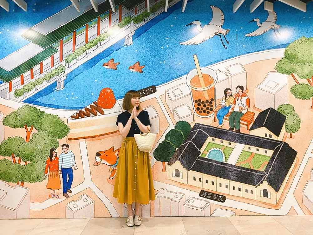 太和廣場聯乘本地插畫師呈現「 幸匯‧太和 」  水彩畫捕捉大埔獨特生活場景