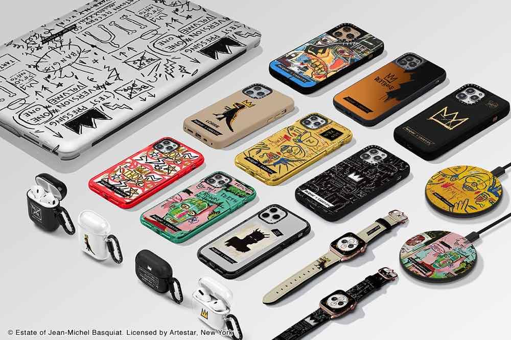 向塗鴉藝術家  Jean-Michel Basquiat  致敬  Basquiat x CASETiFY 手機配件