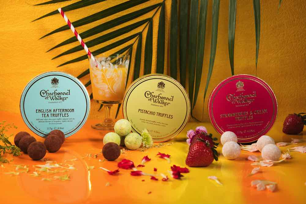 英女皇至愛朱古力品牌 Chocolatier Charbonnel et Walker  限量季節口味