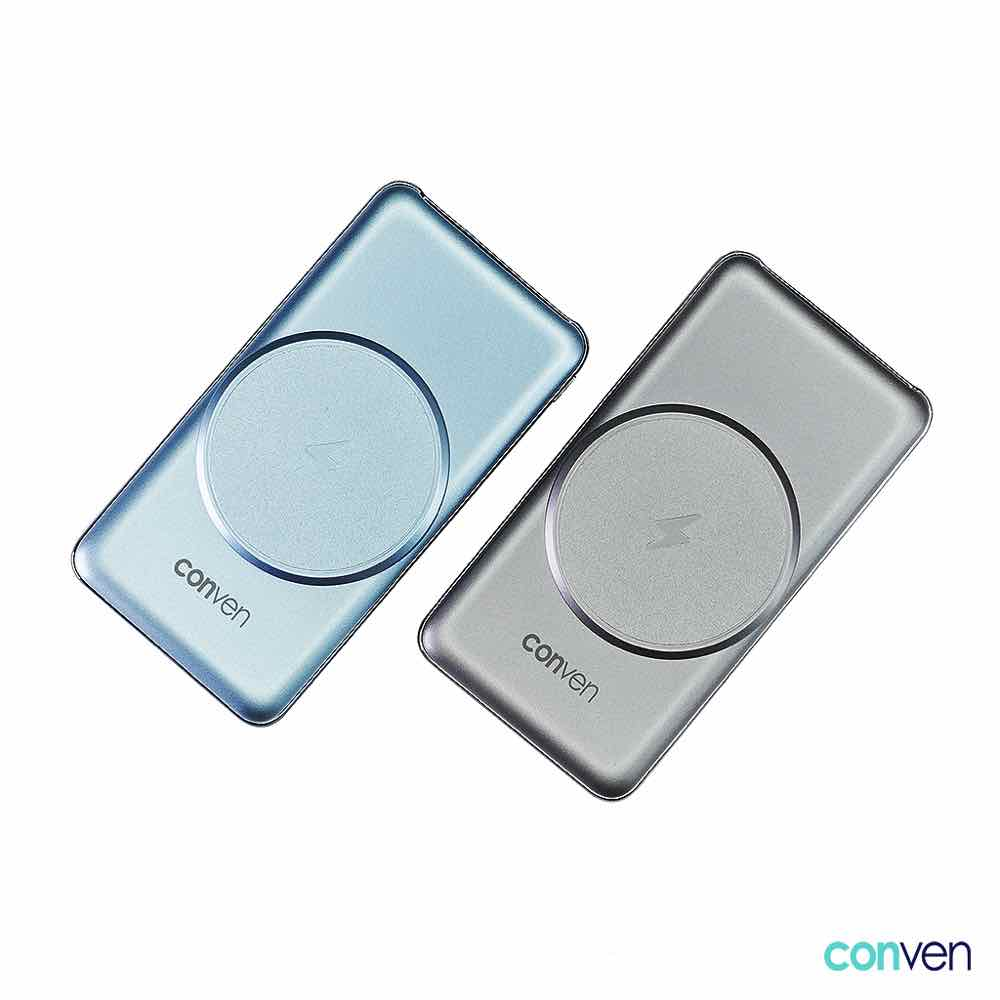 CONVEN Power Gear 10000 MagWireless 再支援 MagSafe 15W 充電