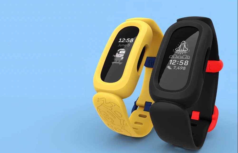 Fitbit Ace 3 特別版:迷你兵團  兒童專用活動及睡眠追蹤智能手環