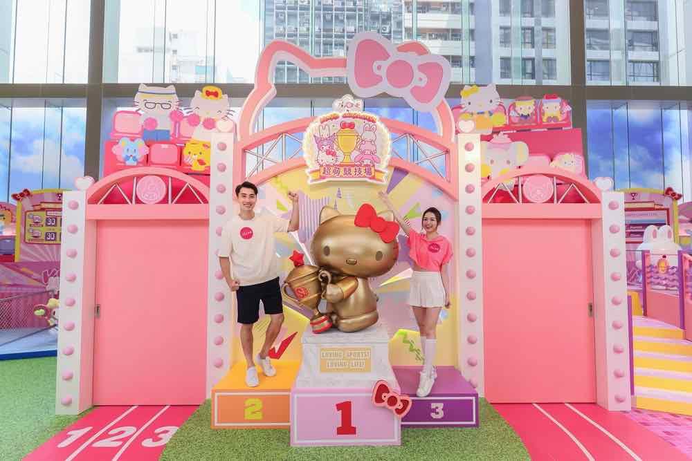 The ONE‧皇室堡‧Sanrio Characters 超萌競技場  40 多位 Sanrio 家族總動員