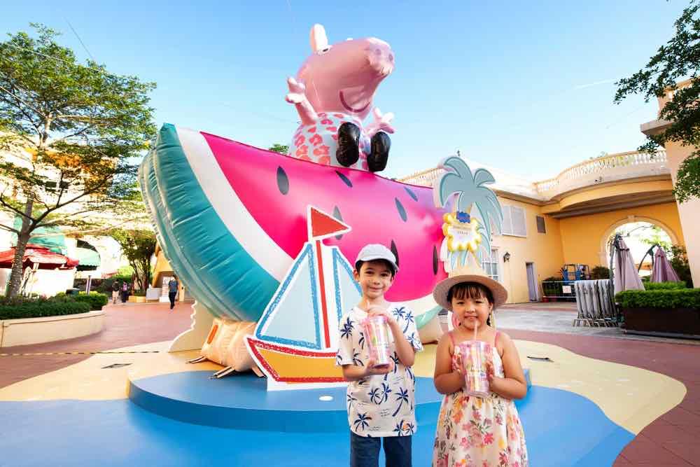Peppa Pig 黃金海岸夏日遊  大人小朋友歡度「 夏威夷熱情假期 」