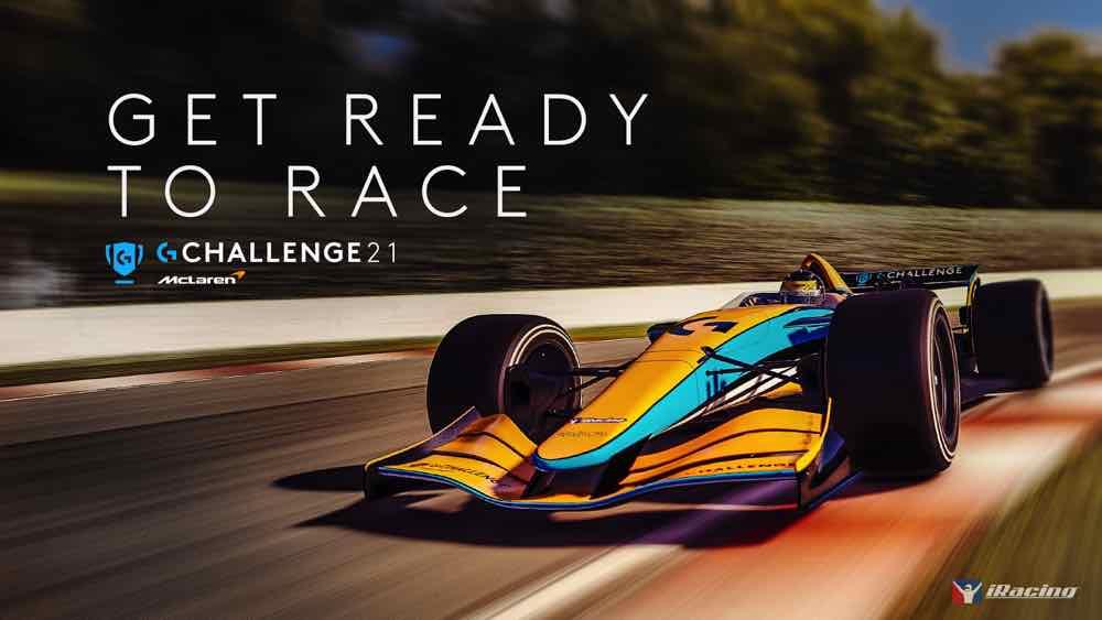 Logitech G 與 McLaren 舉辦 Logitech McLaren G Challenge 2021