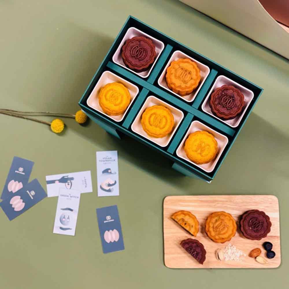 Green Common  推 「 一盒零負擔的月餅 」 禮盒  純素奶皇月餅迎佳節