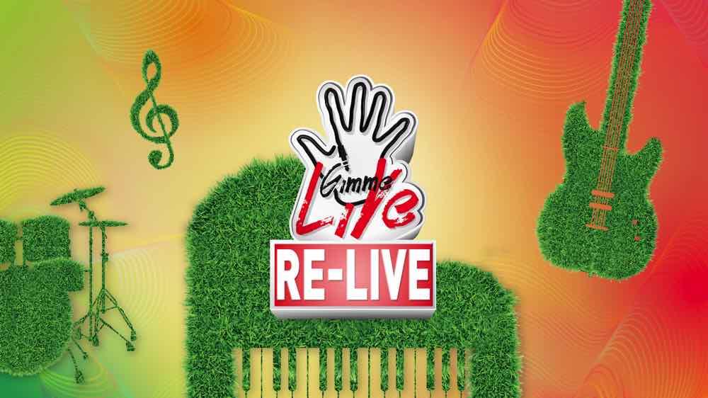 Mira Place 「 Gimme LiVe 」 音樂節 9 周年「 RE-LIVE 」歌曲、舞台、樂器「 再生 」