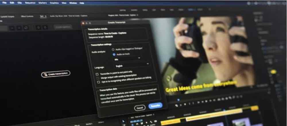 Adobe Premiere Pro 推繁體中文 Speech to Text   M1 Mac 都用得
