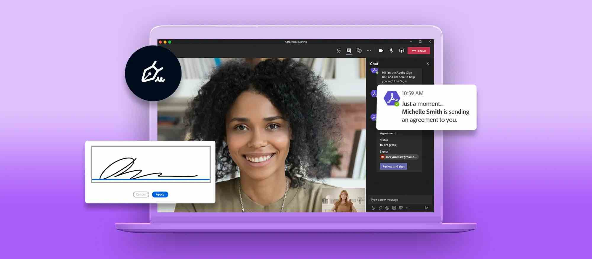 Adobe 新功能! Document Cloud 支援 Microsoft Teams 提升工作效率