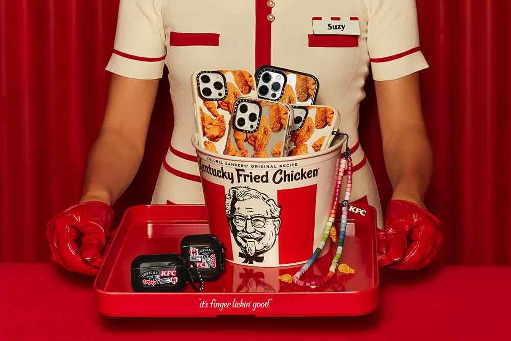 CASETiFY x KFC 聯乘系列 令人「 吮指回味 」的電子配件