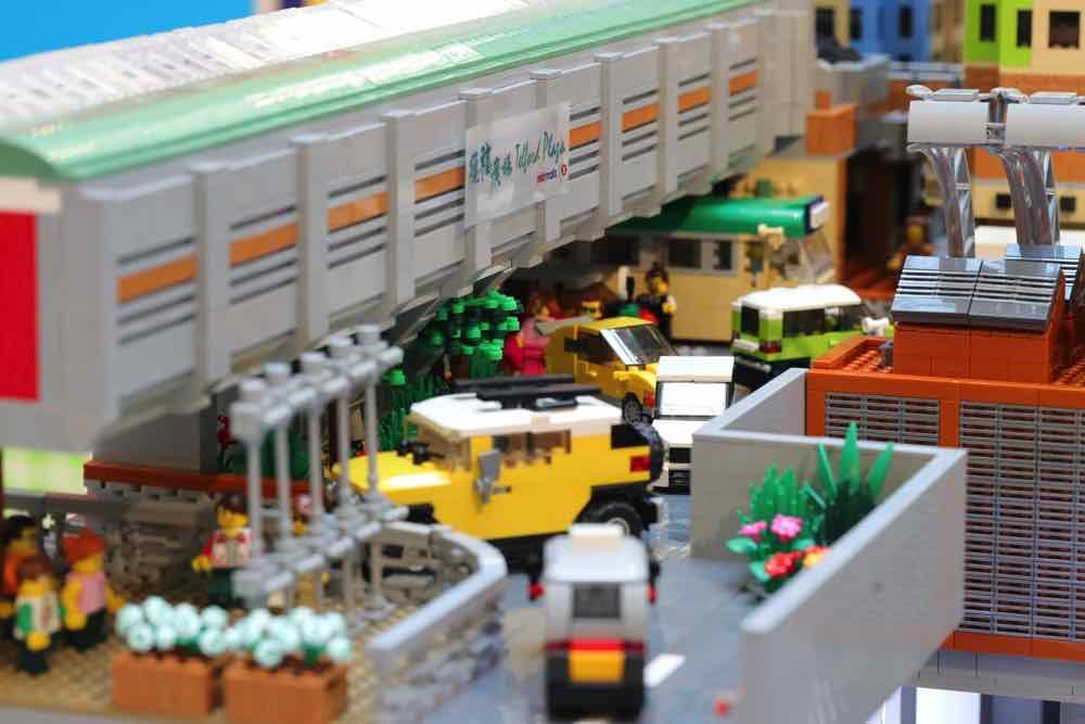 LET'S EXPLORE LEGO CITY 樂遊城市 AT MTR MALLS  7 萬粒樂高顆粒現身港九新界