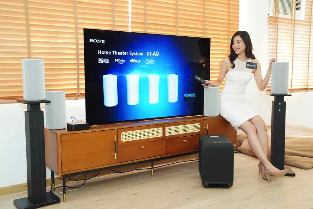 睇戲煲戲必備! Sony HT-A9、旗艦HT-A7000及HT-S40R 家庭影院組合