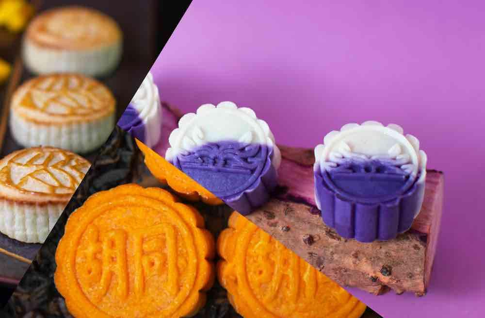 另類特色月餅慶中秋 「雪花紫薯紅豆月餅」9 月有得試
