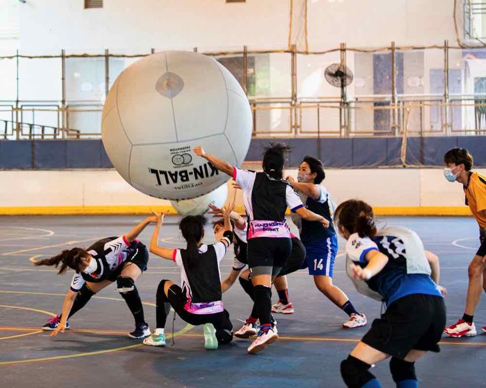 香港健球公開賽2021  感受 48 吋巨球魅力