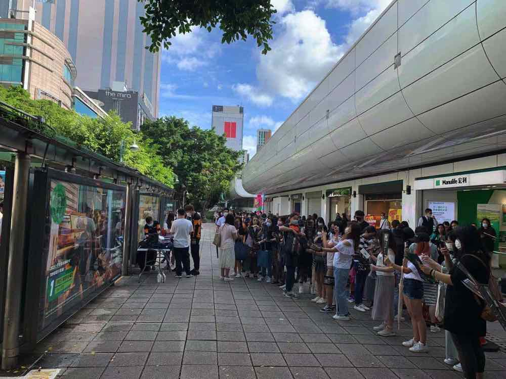 JOOX Bus Stop AD event 1