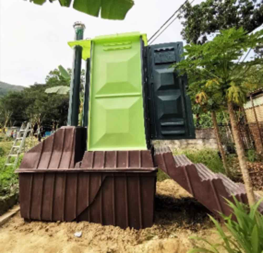 零用水.零排放.無味無臭   環保生態廁所系統岱麟 DehTlet