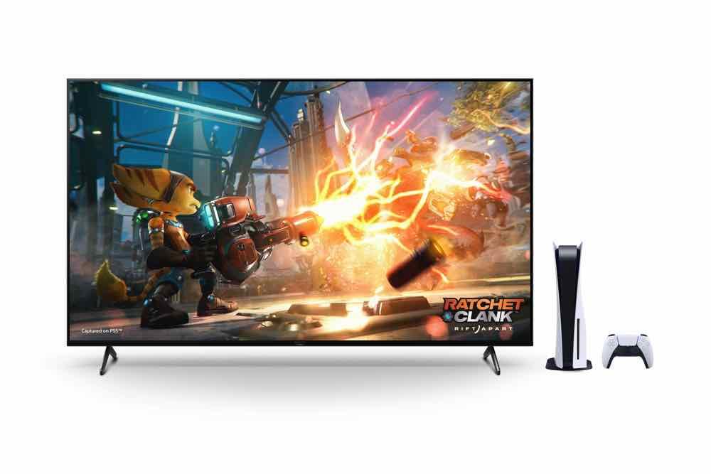 「Perfect for PlayStation5」推廣活動  BRAVIA XR 電視獨有功能為 PS5 提升畫質