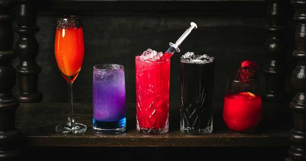 投入萬聖節派對 Aqua Restaurant Group 推萬聖節派對血腥雞尾酒