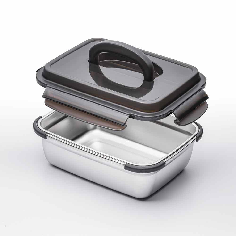 天上野304不鏽鋼食物保鮮盒 返工帶飯更加方便