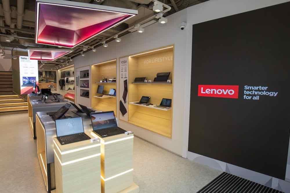 香港首間Lenovo 概念體驗店登陸尖沙咀  創新科技融入生活