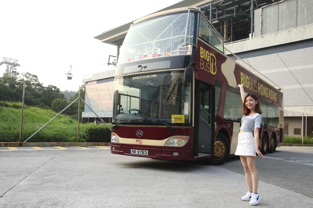 360纜車 ∙ 敞篷觀光巴士黃昏遊套票  持即日來回纜車門票加$48即可升級