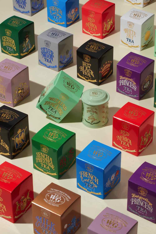 Tea WG香港 10 周年慶典展開  推出一套 10款香港獨家茶款
