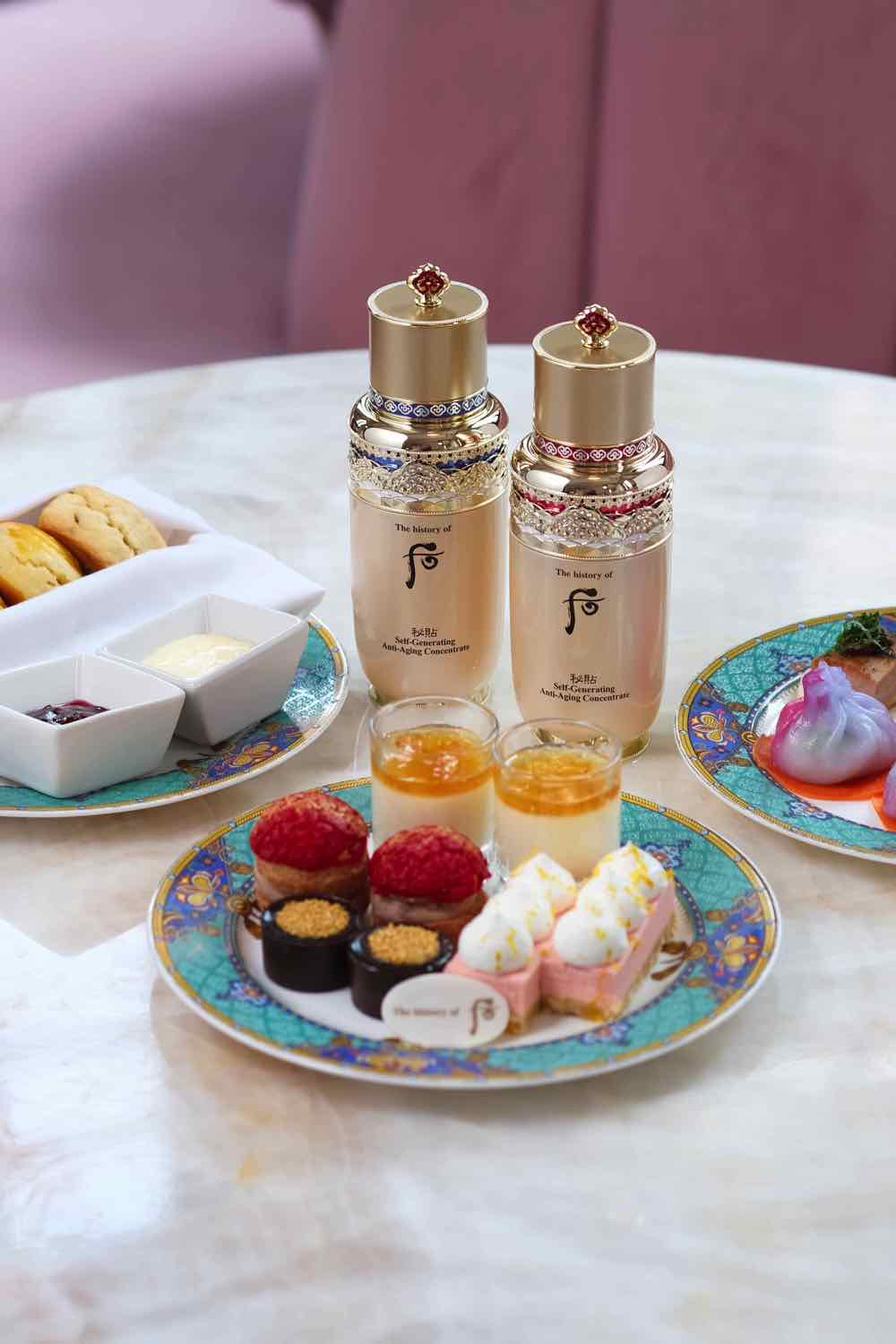 Madame Fù 聯乘 The history of Whoo 推出「The Royals」下午茶